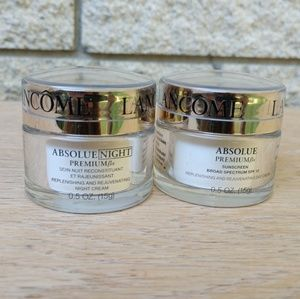 Lancome Absolue Day and Night Cream Set .5 oz each